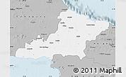 Gray Map of Las Tunas
