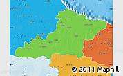 Political Map of Las Tunas