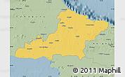 Savanna Style Map of Las Tunas