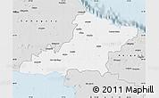 Silver Style Map of Las Tunas
