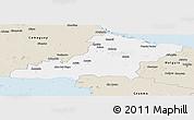 Classic Style Panoramic Map of Las Tunas