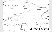Blank Simple Map of Las Tunas
