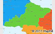 Political Simple Map of Las Tunas