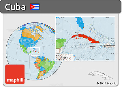 Free political location map of cuba highlighted continent highlighted continent political location map of cuba highlighted continent gumiabroncs Gallery
