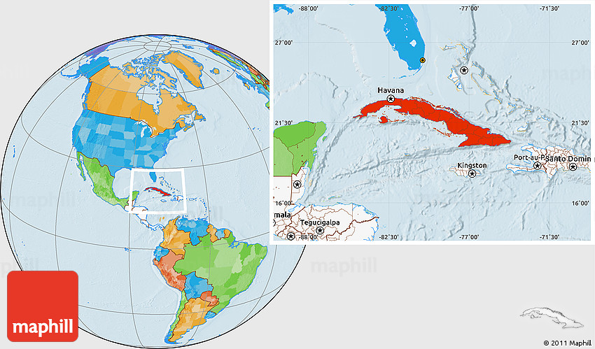 Map Of Cuba Continent Usa Continent Map Japan Continent Map - What continent is israel located