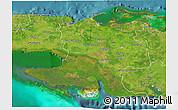 Satellite 3D Map of Matanzas