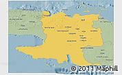 Savanna Style 3D Map of Matanzas
