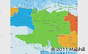 Political Map of Matanzas
