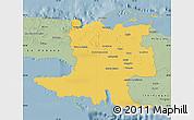 Savanna Style Map of Matanzas