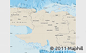 Shaded Relief Map of Matanzas