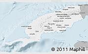Gray 3D Map of Pinar del Rio
