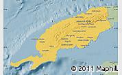 Savanna Style Map of Pinar del Rio