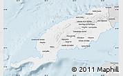 Silver Style Map of Pinar del Rio
