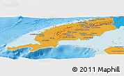 Political Panoramic Map of Pinar del Rio