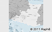 Gray Map of Sancti Spiritus