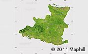 Satellite Map of Sancti Spiritus, cropped outside