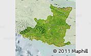 Satellite Map of Sancti Spiritus, lighten