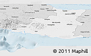Silver Style Panoramic Map of Sancti Spiritus