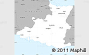 Gray Simple Map of Sancti Spiritus