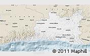 Classic Style Map of Santiago de Cuba
