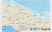 Shaded Relief 3D Map of Villa Clara