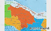 Political Map of Villa Clara
