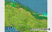 Satellite Map of Villa Clara