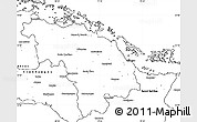 Blank Simple Map of Villa Clara