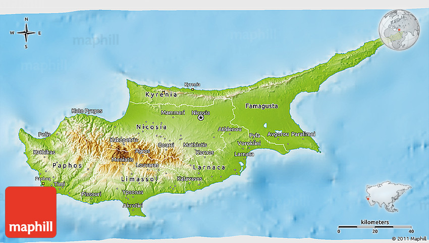 Physical 3d map of cyprus 2d gumiabroncs Images