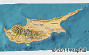 Satellite 3D Map of Cyprus