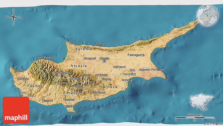 Satellite 3d map of cyprus gumiabroncs Image collections