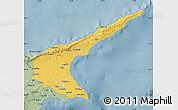 Savanna Style Map of Famagusta