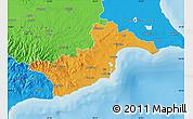 Political Map of Larnaca