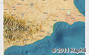 Satellite Map of Larnaca