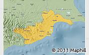 Savanna Style Map of Larnaca