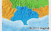 Political Map of Limassol