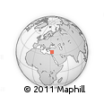 Outline Map of Limassol