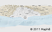 Classic Style Panoramic Map of Limassol