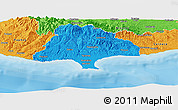 Political Panoramic Map of Limassol