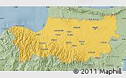 Savanna Style Map of Nicosia