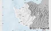 Gray Map of Paphos