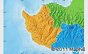 Political Map of Paphos