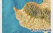 Satellite Map of Paphos