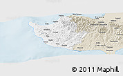 Classic Style Panoramic Map of Paphos