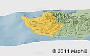 Savanna Style Panoramic Map of Paphos