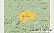 Savanna Style Map of hl.m. Praha