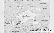 Silver Style Map of hl.m. Praha