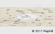 Classic Style Panoramic Map of hl.m. Praha