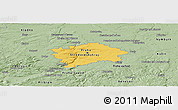Savanna Style Panoramic Map of hl.m. Praha