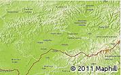 Physical 3D Map of Hodonín